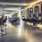 20487096 - interior of modern hair salon